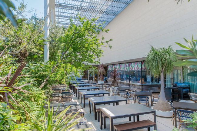 アトレ恵比寿西館 アトレ空中花園