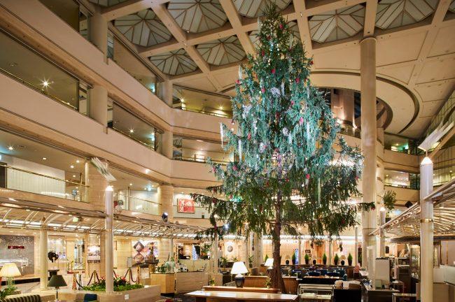 ホテルニューオータニ 大阪 秀吉のクリスマスツリー