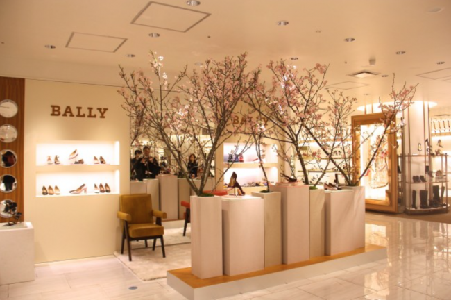 BALLY POP UP STORE