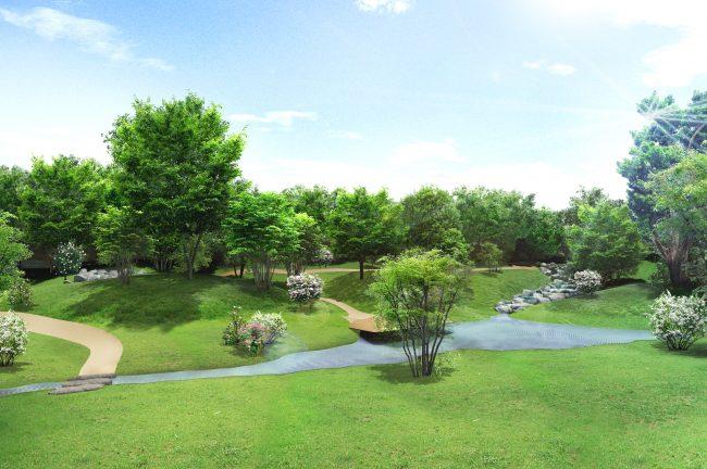 回遊式築山林泉の庭